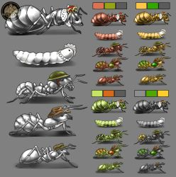 Ant units by Feivelyn