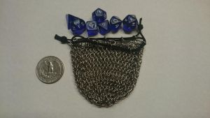 Tiny dice bag, empty by demuredemeanor