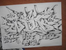 the wild style-sketch by ERSTE