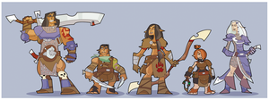 DnD Party Lineup IX (maybe) by hangemhigh13