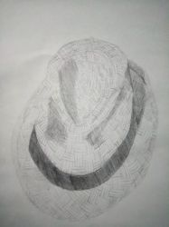 Fedora - 2B Pencil by vrl97