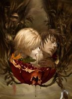 Seras and Pip-pomegranate by CassandraTroy21
