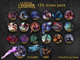 League of Legends icons by Fazie by fazie69