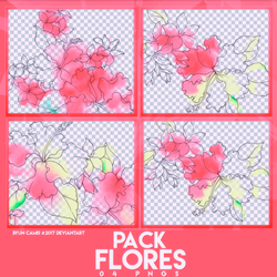 PACK PNGS: Flores | ByunCamis by fairyixing