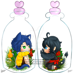 [C] Bottled Twinkle and Hawkie