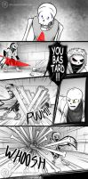 X-Hand Pg 37-40 - Undertale comic by Dra-Aluxe