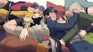 Stardust Crusaders by Guppy-17