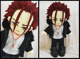 Mikoto Suoh - Red King 2nd Ver Plushie by renealexa-plushie