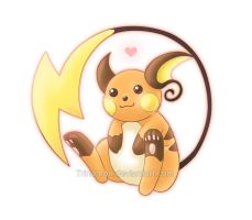 i'll always love Raichu by Trinamon