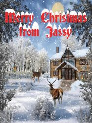 Merry Christmas  from Jassy by JassysART