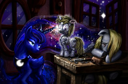 Wishes On Stars Are Her Jurisdiction by harwicks-art