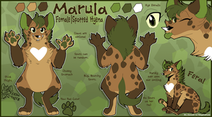 Marula Reference Sheet by TheCynicalHound