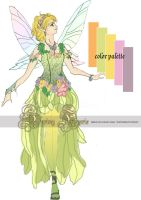Spring Faerie Design by Firefly-Path