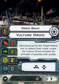 [X-Wing] Vulture Droid Brain Pilot by RvBOMally