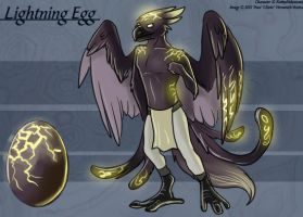Lightning Egg - Adoptable by Ulario