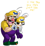 Wario And Bwario by Katonator