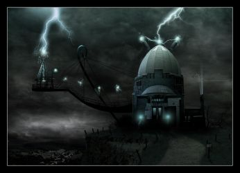 The Lair - matte painting - by rblokker