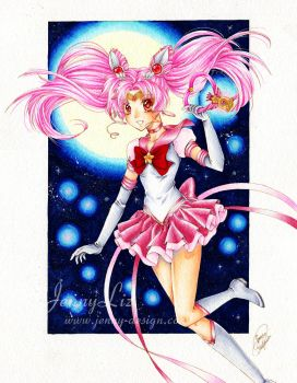 Eternal Sailor Chibi Moon by Jenny-Liz