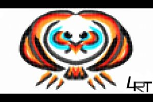 8 bit owl by 4ort