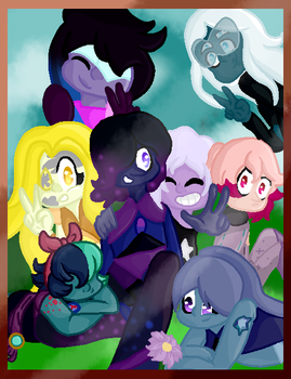 .:Contest:. Gem Squad by Anklesupport