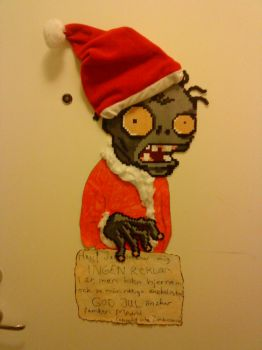 Plants Vs. Zombies Santa Claus by RealPife
