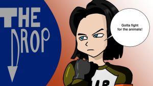 The drop android 17 by fighterxaos