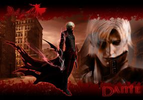Devil May Cry - Dante by JohnRiddle20