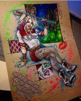 Harley Quinn Pinup  by animaddict