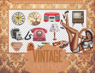 Vintage Pack - PNG by sweetpoisonresources