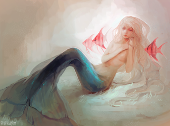 little mermaid by Chaotic-Muffin