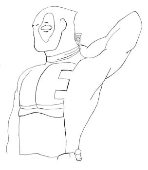 Draw Your Deadpool by Neonocyte