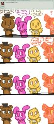 Ask five nights at cuties [3] by Cookie-and-her-foxes