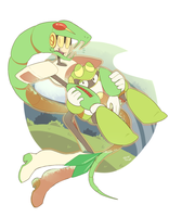 Snake and Toad by Sony-Shock