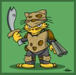 JAC challenge - Cat Armor by Adam-Clowery