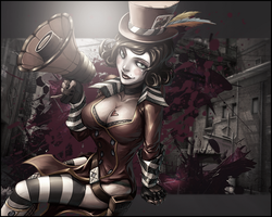 Moxxi  boderlands 2 wallpaper 1280x1024 by gameriuxlt