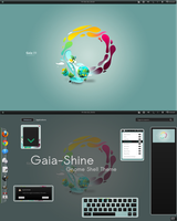 Gaia-shine shell theme by justviper