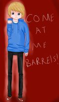 Come at me Barrels! - Pewdiepie by flashsteps