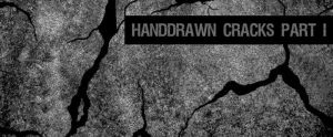 Hand-drawn Cracks Brushes Pt I by sdwhaven