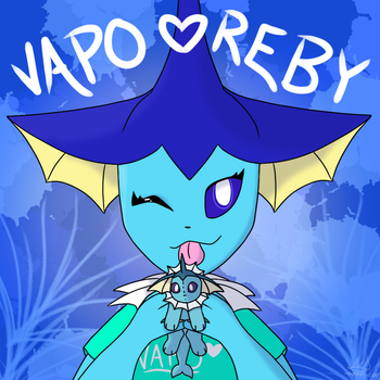 Art Contest Entry for Vapo Reby by MapleDrizzle