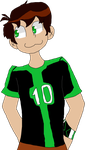 (WARNING: CRINGE) First time drawing Ben 10 by DJ-Lucio