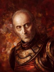 Game of Thrones: Tywin Lannister by qi-art
