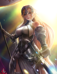 Fate/GrandOrder Lily Jeanne d'Arc by Limdog