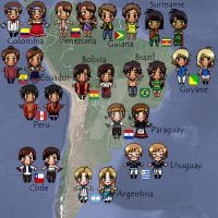 South America by Lichtherz