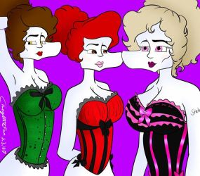 ~ Ghouls and Corsets ~ by CrazyOATCFan