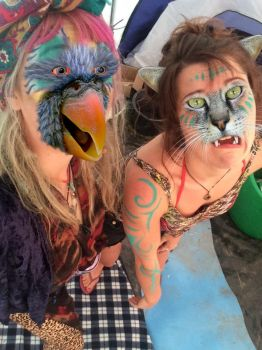 Polly and Kitty (for wild11112) by mrtboy