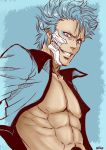 Skin-colored sketch #GRIMMJOW# by NEKO-2006
