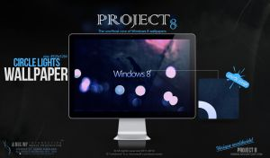 PROJECT 8 - Circle lights wallpaper by enemia