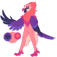 Bearded Vulture Adopt [SOLD] by Aegann