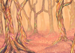 [Speedpaint] The Jeweled Forest of the Sun by ColorfullyMonotone