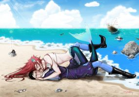 Mermaid Grell by MarinaManky